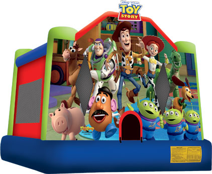 Toy Story Bounce House (06-LP-008)