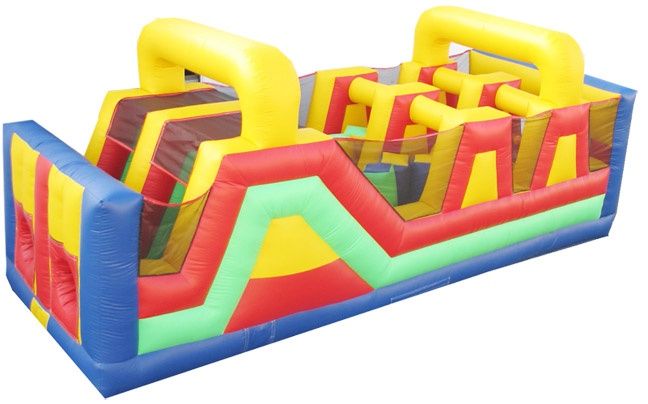 Deluxe Multicolor Double Line Obstacle Course (301)