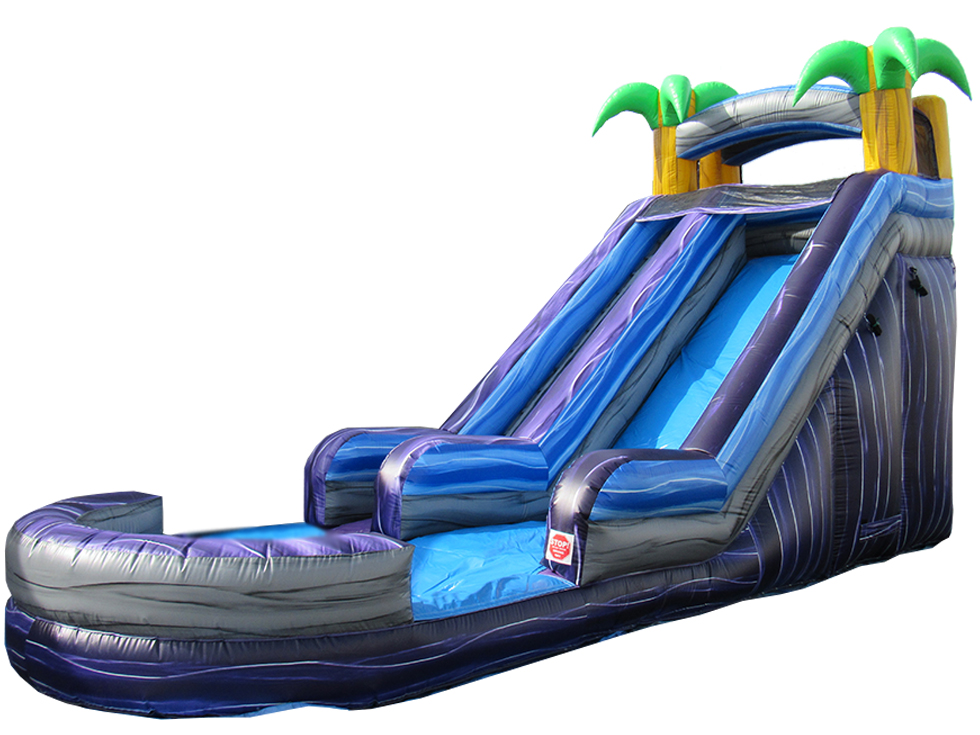 18' Tropical Water Slide (WS80011-18) NEW!