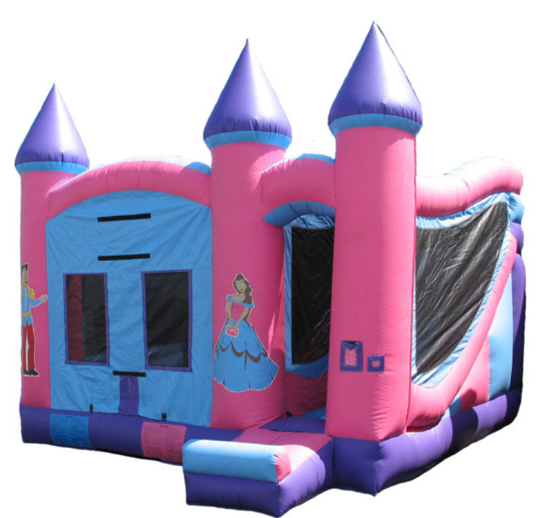 5 in1 Wet & Dry Princess Castle Combo (195)