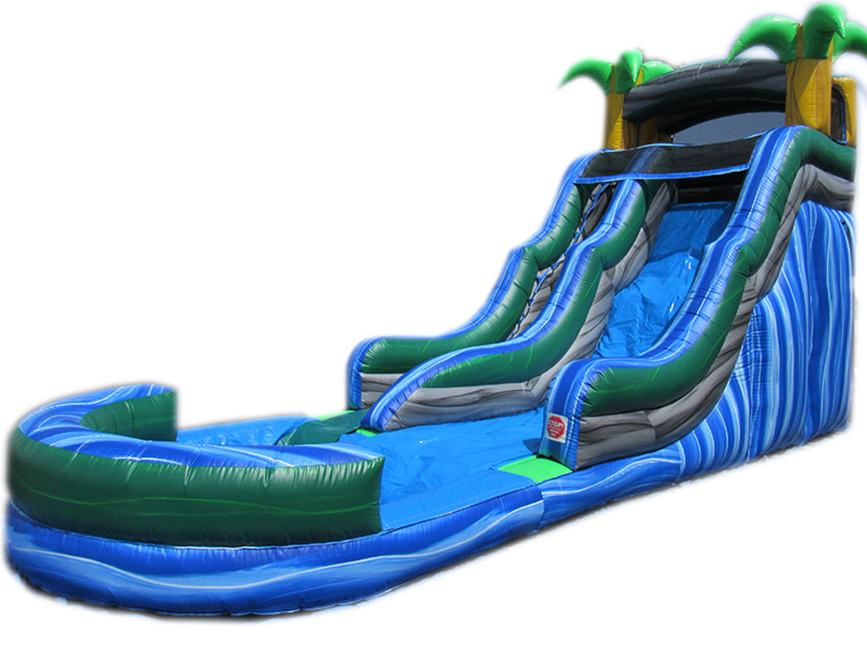 20' Blue Wave Water Slide (WS80614-20)