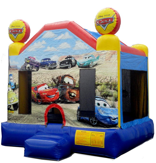 Cars 2 Bounce  (03-LP-007)