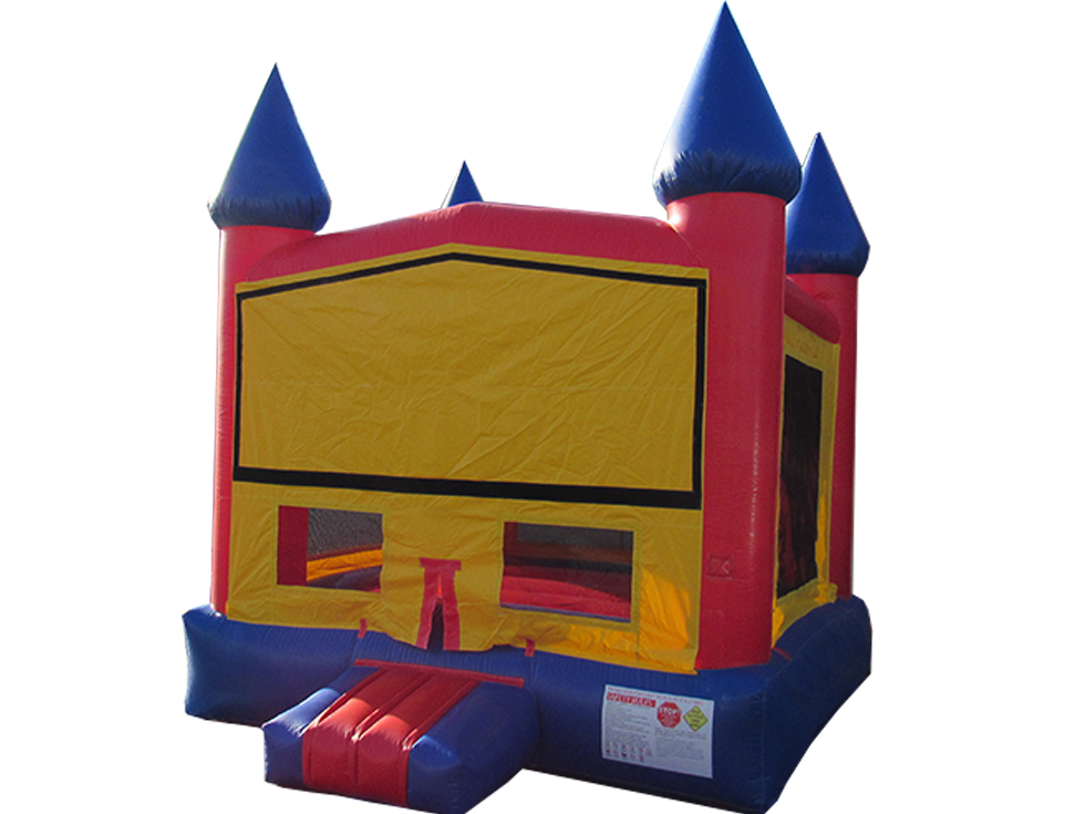 Primary Color Modular Castle (B1049) NEW!