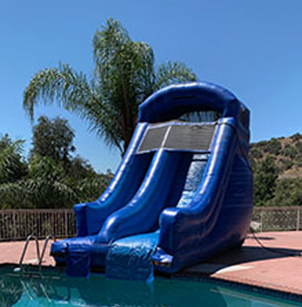 Blue Magic Poolside Water Slide (80025-PS)